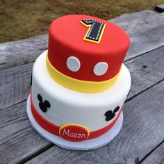 mickey mouse cake ideas | Mickey Mouse cake | Kids Party Ideas
