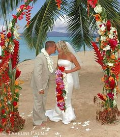Taveuni Palms Beach Wedding, Taveuni Island Villas