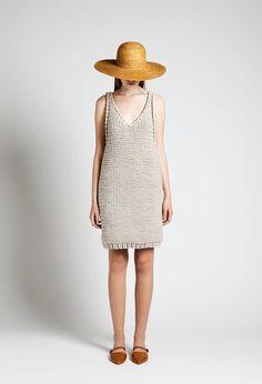 Sun Hat and Paul Dress | Samuji SS14 Classic Collection