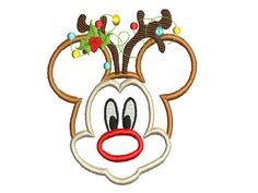Instant Download Machine embroidery Design Mickey by Embroideryy