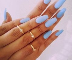 Want this color and long nails like this