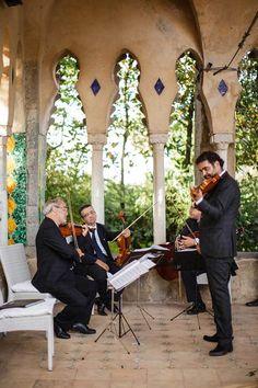 String quartet for wedding ceremonies http://www.weddingsontheamalficoast.com/music-for-weddings-on-the-amalfi-coast.html