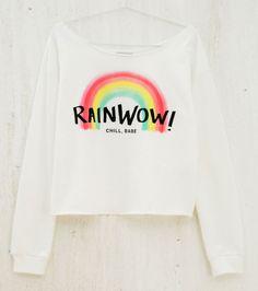 'RainWOW' T-Shirt #Colorful #TShirt