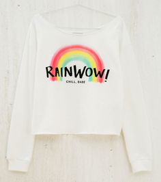 'RainWOW' T-Shirt #Colorful #TShirt