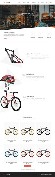 X-shop is an advanced responsive #Shopify theme for #bike #cycle store awesome eCommerce websites with 20+ unique homepage layouts download now➩ https://themeforest.net/item/xshop-kute-shopify-theme/18977648?ref=Datasata