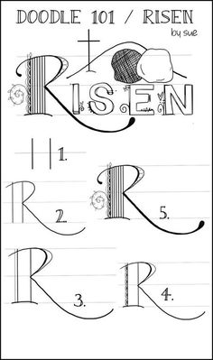 Palette & Paper Doodle 101 Risen