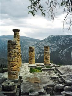Temple of Apollo at Delphi, Greece 15 Amazing Photos of Greece You'll Never Forget