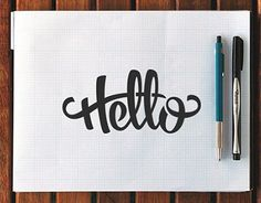 A selection of my hand lettering work used for professional work, student projects, and personal projects.