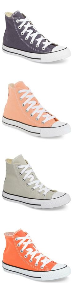 Bold colors make these classic Converse sneakers standout.