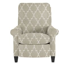 Brook Recliner: love this style of recliner for our living room. Clean lines yet functional