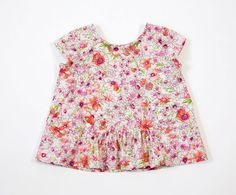 Butterfly Blouse + Skirt Sewing Pattern | Shop | Oliver + S