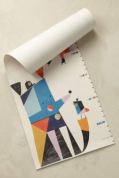 Anthropologie EU Colourful Creatures Height Chart