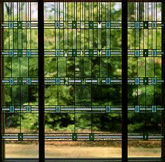 Frank Lloyd Wright Art Glass | Stained Glass Photographs