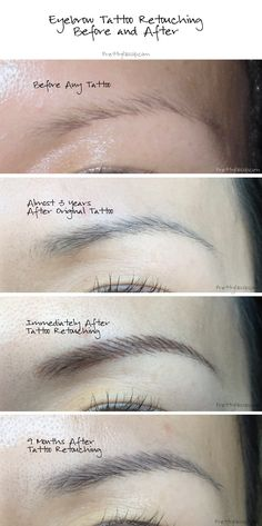 My eyebrow tattoo journey. A must read before getting any makeup tattoos! Click for details on the process, how to select a tattoo artist and also the aftercare. by PrettyGossip.com