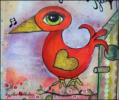 lots of ideas on how to journal- i need to come back and read this.. but i LOVE the red bird!!!!!