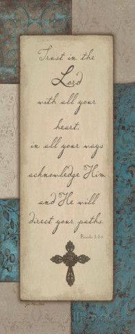Trust Poster by Jo Moulton - AllPosters.ca