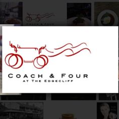 Coach and Four at the Edgecliff, Cincinnati