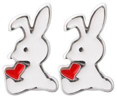 Bijou Brigitte Stud earrings - Lovely Bunny