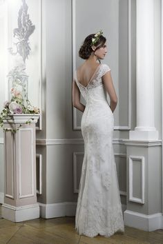 5 wedding dresses from Lillian West inspired by 1930s - Style 6375