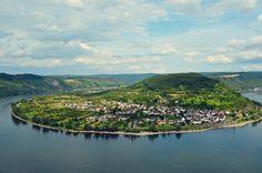 Boppard, Germany view  #travel #germany