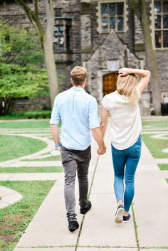 Trinity College Engagement Photos in Toronto. The most beautiful, classic place to do photography before your wedding! Beautiful Couple, Most Beautiful, Engagement Photo Inspiration, Engagement Shoots, Toronto, Sporty, College, Couple Photos, Classic