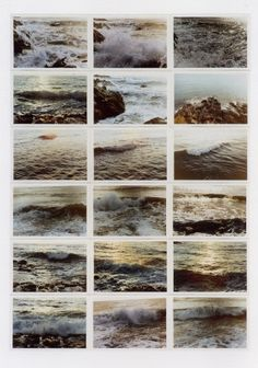 gerhard richter, atlas sheets. craving the ocean