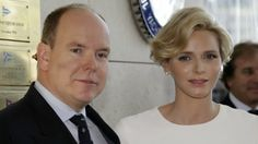 MYROYALS &HOLLYWOOD FASHİON-Monaco's Royal Family attended the inaguration of the new Yacht Club of Monaco, June 20, 2014-Prince Albert and Princess Charlene