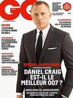 Hello James Bond. Daniel Craig for GQ France, October 2012. ~