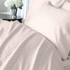 "8PC ITALIAN 1200TC Egyptian Cotton GOOSE DOWN COMFORTER Bed in a Bag - Sheet , Duvet California King Pink St by Egyptian Cotton Factory Outlet Store. $289.99. Beautiful Duvet Set : 1 Duvet Cover (106"" x 90"") and 2 Shams (20"" x 40""). 1 Flat Sheet (110"" x 102""), 1 Fitted Sheet (72"" x 84"") and 2 King Pillow Cases (20"" x 40""). Luxury 1200TC 100% Goose Down Comforter, 750fp, 50oz, Allergy free.. This 8pc luxury bedding set is designed & crafted in ITALY.. ITALIAN 1200TC long-staple Eg..."