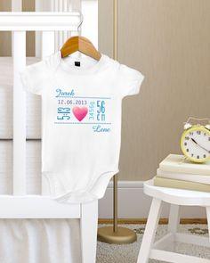 Body z najważniejszymi informacjami dotyczącymi narodzonego chłopczyka