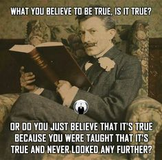 """Or are you part of the """"post truth"""" movement and simply believe whatever you want to believe even though you know it's not true?"""