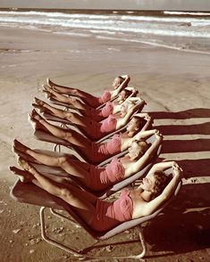 Hen party vibes: Clifford Coffin 1949.
