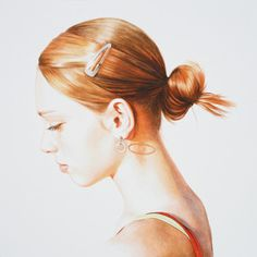 Step by step watercolor demonstration. Learn how to paint a portrait! http://www.artistsnetwork.com #art