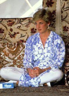 Lady Diana en Arabie Saoudite !