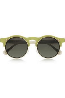 b4e4b2fd1016 Carven - Anastasie flip-up round-frame acetate sunglasses