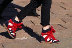 Las Wedge Sneakers / header