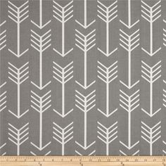 Premier Prints  Arrow Indoor/Outdoor Grey from @fabricdotcom  Premier Prints outdoor fabrics are screen printed on spun polyester and have a stain and water resistant finish. These fabrics withstand direct sunlight for up to 1000 hours making them both durable and versatile, perfect for outdoor settings and indoor living in sunny rooms, great family friendly fabric! Create decorative toss pillows, chair pads, placemats, tote bags and much more. To maintain the life of the fabric bring…