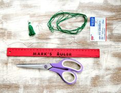 How to Make An Emerald Tassel Necklace and Earrings   http://hellonatural.co/how-to-make-a-tassel-necklace-and-earrings/