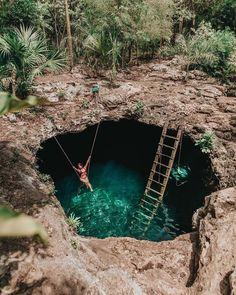 Cenote Calavera, Tul