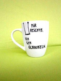 Porcelain cup me rich. I'm going to rock. * Cup * coffee cup * coffee mug * Mug Cup pot mug Porzellantasse Mir reichts. * Tasse * Kaffeetasse * Kaffeebecher * Becher Cup Pott Mug - Unique Baby Bathing Best Coffee Mugs, Unique Coffee Mugs, Funny Coffee Mugs, Coffee Humor, Funny Mugs, Coffee Cups, Tea Rex Mug, Tea Mugs, Modern Mugs