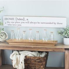 Definition of Home Wall Plaque | Kirklands