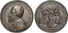 "NumisBids: Numismatica Varesi s.a.s. Auction 65, Lot 877 : CLEMENTE IX (1667-1669) Med. A. III ""Pace di Aquisgrana"" Miselli..."
