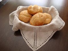 Ravelry: Project Gallery for Classic Bread Basket Liner pattern by Kellelynne Hedberg Riley