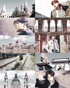 bts as cities: Jhope x Budapest