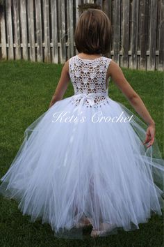 A personal favorite from my Etsy shop https://www.etsy.com/ca/listing/538277161/tutu-dresswhite-tutu-dressflower-girl