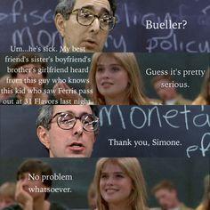 Ferris Bueller's Day Off- favorite movie EVER!!! Favorite quote ever too!!! #ferrisbueller #saveferris
