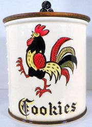 Rooster Cookie Jars