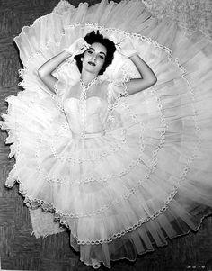 Liz Taylor, 1950s.