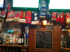 Lucky Bar in Washington DC: Lots of big TVs, great knowledgeable staff, English Breakfast! This is THE place to watch soccer in Washington, DC. Also, the wings are awesome, and they have a great selection of beer on tap. Find more places to watch the World Cup in the USA: http://pin.it/AeGWA1a