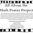 Back to School Math All About Me Puzzle Poster Project Back to School Math All About Me Poster Project This is a great first day or back to school activity. It can be adapted to work for most any grade level from kindergarten to high school, just by … Senior Games, Senior Activities, Back To School Activities, School Ideas, All About Me Maths, All About Me Poster, Third Grade Math, Second Grade, September Activities